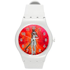 White Knight Plastic Sport Watch (medium) by icarusismartdesigns