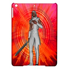 White Knight Apple Ipad Air Hardshell Case by icarusismartdesigns