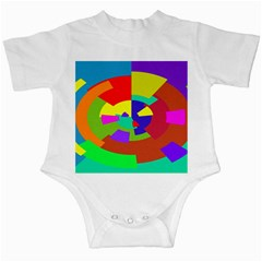 Pattern Infant Bodysuit by Siebenhuehner
