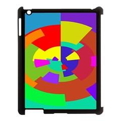 Pattern Apple Ipad 3/4 Case (black) by Siebenhuehner