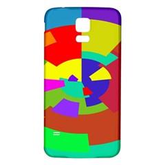 Pattern Samsung Galaxy S5 Back Case (white) by Siebenhuehner