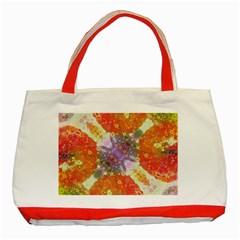 Abstract Lips  Classic Tote Bag (red) by OCDesignss