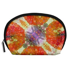 Abstract Lips  Accessory Pouch (large)