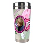 Bleeding Heart Stainless Steel Travel Tumlber Pink - Stainless Steel Travel Tumbler