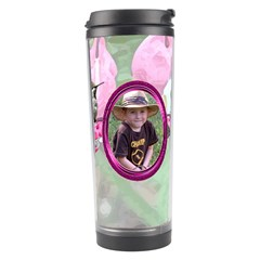 Bleeding Heart Travel Tumlber Pink By Chere s Creations   Travel Tumbler   Lrss5okc07hc   Www Artscow Com Right