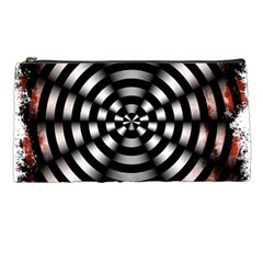 Zombie Apocalypse Warning Sign Pencil Case