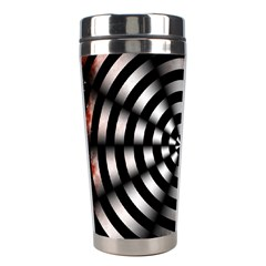 Zombie Apocalypse Warning Sign Stainless Steel Travel Tumbler by StuffOrSomething