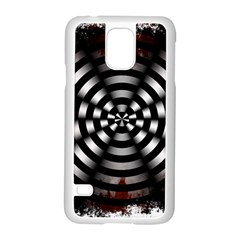 Zombie Apocalypse Warning Sign Samsung Galaxy S5 Case (white) by StuffOrSomething