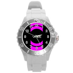 Vape Abstract Plastic Sport Watch (large) by OCDesignss