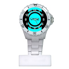 Turquoise Lines Vape   Nurses Watch by OCDesignss
