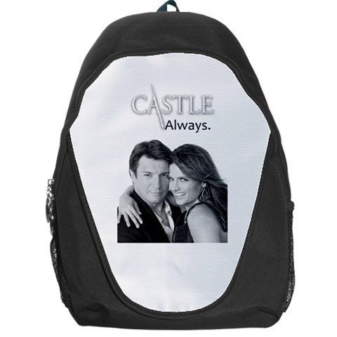 #mrandmrscastle By Ilana Hakim   Backpack Bag   O6oewz7cxojz   Www Artscow Com Front