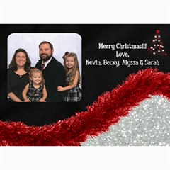 Xmas 2014 By Becky   5  X 7  Photo Cards   Pdc71nhn1xd9   Www Artscow Com 7 x5 Photo Card - 7