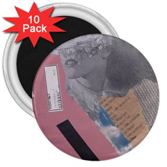 Clarissa On My Mind 3  Button Magnet (10 Pack) by KnutVanBrijs