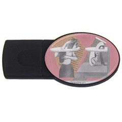 Marushka 2GB USB Flash Drive (Oval) by KnutVanBrijs