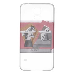 Marushka Samsung Galaxy S5 Back Case (white)
