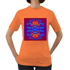 Abstract Reflections Women s T Shirt (colored)