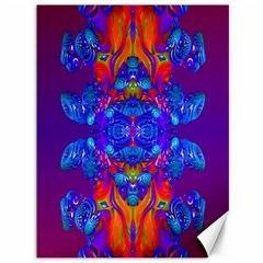Abstract Reflections Canvas 36  X 48  (unframed) by icarusismartdesigns