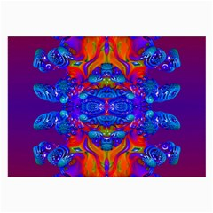 Abstract Reflections Glasses Cloth (large) by icarusismartdesigns
