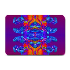 Abstract Reflections Small Door Mat