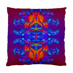 Abstract Reflections Cushion Case (single Sided)  by icarusismartdesigns