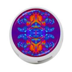Abstract Reflections 4 Port Usb Hub (one Side) by icarusismartdesigns