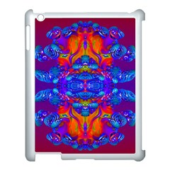 Abstract Reflections Apple Ipad 3/4 Case (white) by icarusismartdesigns