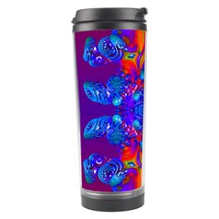 Abstract Reflections Travel Tumbler by icarusismartdesigns