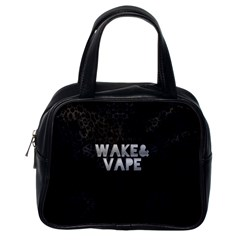 Wake&vape Leopard  Classic Handbag (one Side) by OCDesignss