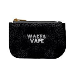 Wake&vape Leopard  Coin Change Purse by OCDesignss