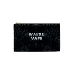 Wake&vape Leopard  Cosmetic Bag (small) by OCDesignss