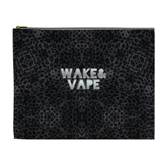 Wake&vape Leopard  Cosmetic Bag (xl) by OCDesignss