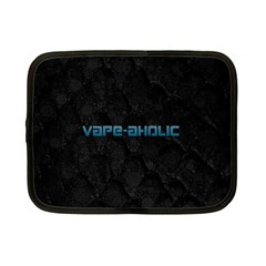 Vape Aholic Turquoise  Netbook Sleeve (small) by OCDesignss