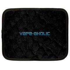 Vape Aholic Turquoise  Netbook Sleeve (large) by OCDesignss