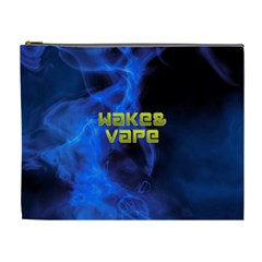 Wake&vape Blue Smoke  Cosmetic Bag (xl) by OCDesignss
