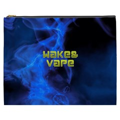 Wake&vape Blue Smoke  Cosmetic Bag (xxxl) by OCDesignss