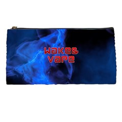 Wake&vape Blue Smoke  Pencil Case by OCDesignss