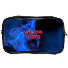 Wake&vape Blue Smoke  Travel Toiletry Bag (two Sides) by OCDesignss