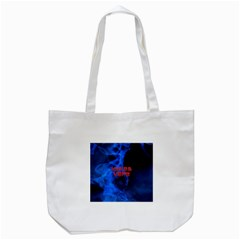 Wake&vape Blue Smoke  Tote Bag (white) by OCDesignss