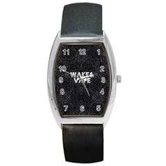 Wake&vape Leopard  Tonneau Leather Watch by OCDesignss
