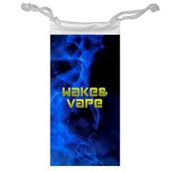 Wake&vape Blue Smoke  Jewelry Bag by OCDesignss