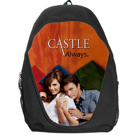 #castle Bag By Ilana Hakim   Backpack Bag   18u7pgys68pa   Www Artscow Com Front