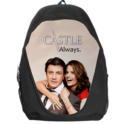 #castle Bag By Ilana Hakim   Backpack Bag   Bmvafsie9m2v   Www Artscow Com Front