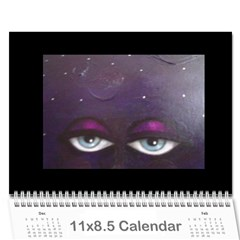 Calender By Judith Pizzamiglio   Wall Calendar 11  X 8 5  (12 Months)   So4lprr9d0js   Www Artscow Com Cover