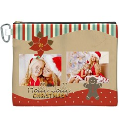 Xmas By Xmas4   Canvas Cosmetic Bag (xxxl)   Kxxk4td3ct8g   Www Artscow Com Front