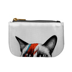 Grumpy Bowie Coin Change Purse by Olechka