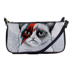 Grumpy Bowie Evening Bag by Olechka