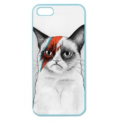 Grumpy Bowie Apple Seamless Iphone 5 Case (color)
