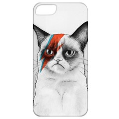 Grumpy Bowie Apple Iphone 5 Classic Hardshell Case by Olechka