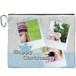 merry christmas - Canvas Cosmetic Bag (XXXL)