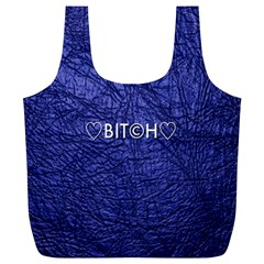 Blue Bit?h Reusable Bag (xl)